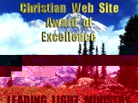 Christian Web Site Award of Excellence